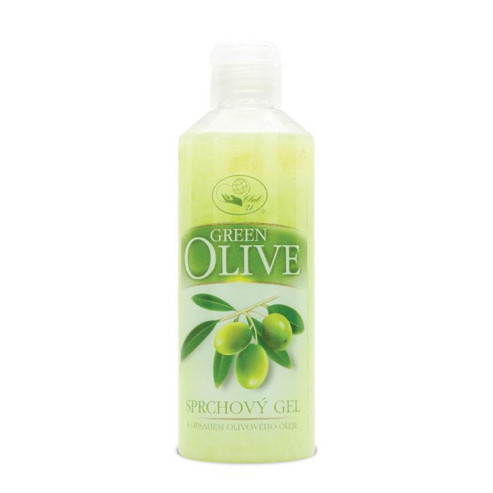 1407_Sprchový gel Green Olive