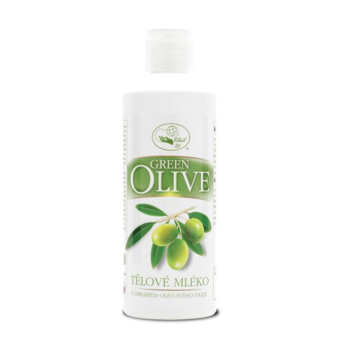 7052_Tělové mléko Green Olive